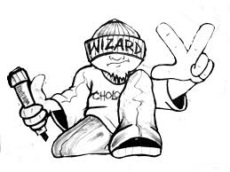 draw graffiti characters wizard drawing a cholo character by