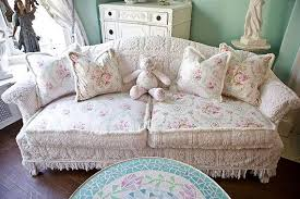 Shabby Chic Armchairs by Top Shabby Chic Sofas With Shabby Chic Sofa Couch Slipcover Ed