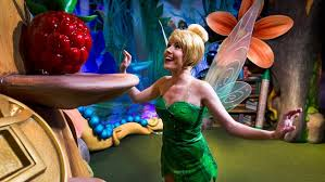 meet tinker bell town square theater magic kingdom walt