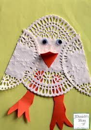 easter arts and crafts doily easter and passover