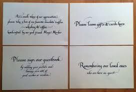 Wedding Table Signs Wedding Calligraphy At Bumble B Design Bumble B Design