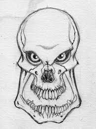 best 25 simple skull drawing ideas on pinterest skull drawings