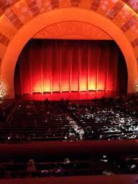 radio city music hall christmas spectacular seating plan