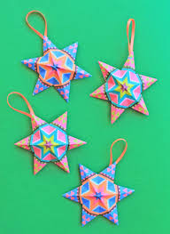make your own mexican paper ornaments diy tutorial templates