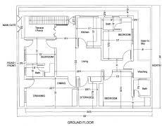 House Plan Layout House Plans From The 1950s Home Deco Plans