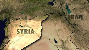 Syria Live Map by Iran Fires Missiles Into Syria Targeting Islamic State Group