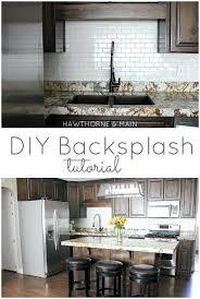 diy tile backsplash kitchen 18 best images of renovated kitchen backsplash above stove design