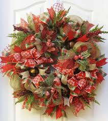 a rustic christmas wreath crafthubs jingle bell by pinkbluebonnet