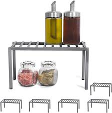 kitchen cabinet organizer shelf small smart design premium cabinet storage shelf small 10 63 x 5 25 inch steel metal frame rust resistant coating cup dish counter pantry