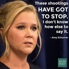 amy schumer calls for a new approach to gun control huffpost