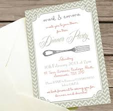 ideas invitation to a dinner party wording