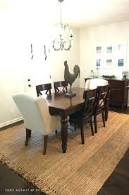 dining table with rug underneath round kitchen table rugs round dining room rug image of area nice