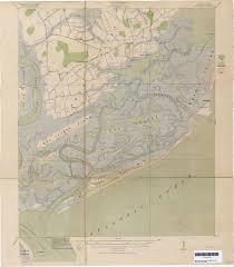 Map Of Kiawah Island South Carolina Historical Topographic Maps Perry Castañeda Map