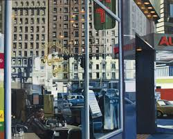 review u0027richard estes painting new york city u0027 features works in