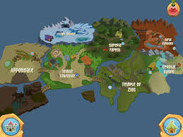 Animal World Map by The Daily Explorer Your Guide To Everything Animal Jam
