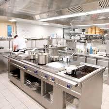 cuisine professionelle cuisine professionnelle contemporaine en métal aichinger