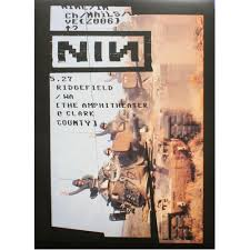 from the vault u2013 limited edition nine inch nails concert posters