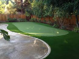 backyard putting green installation cost home outdoor decoration