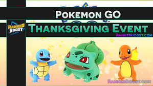 go thanksgiving event guide rewards list