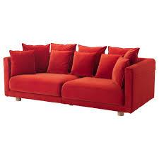 Ikea Sofa Leather New 28 Ikea Sofa Orange Br 197 Thult 3 Seat Sofa Vissle Orange