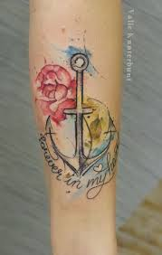 I Refuse To Sink Anchor Tattoo Meaning by Top 25 Best Watercolor Anchor Tattoo Ideas On Pinterest Anchor