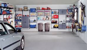 organized living freedomrail garage storage and cabinets