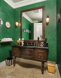Powder Room Decorating Ideas Contemporary 20 Gorgeous Wallpaper Ideas For Your Powder Room