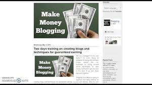 Make Money Online Blogs - training for nepali blogger to earn money online without
