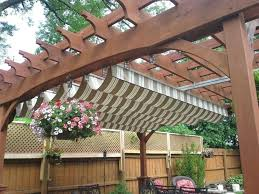 Backyard Canopy Ideas Patio And Deck Roof Covers Shade Canopy Outdoor Ideas Awnings