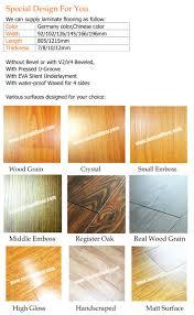 laminate floors made in china sz9810 waterproof floor board light