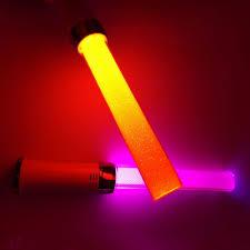 2017 led glow stick light stick luminous novelty decoration