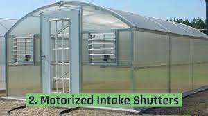 greenhouse exhaust fans with thermostat greenhouse ventilation systems youtube