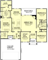 ranch house plan ranch style house plan 3 beds 2 baths 1778 sq ft plan 430 88