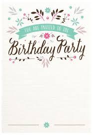 birthday invitation birthday invitation and the birthday