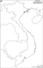 Blank Map Of Central Asia by Blank Map Of Vietnam Vietnam Outline Map