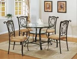 Best  Glass Round Dining Table Ideas On Pinterest Glass - Round glass kitchen table sets