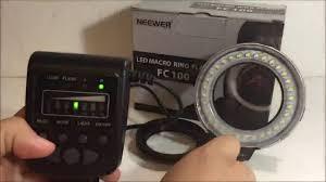 neewer macro ring led light neewer fc100 32 super bright led macro ring flash for canon nikon