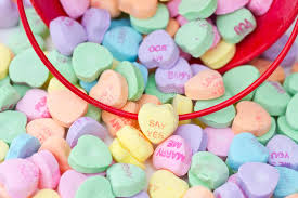 heart shaped candy heart shaped candy stock image image of yellow 12729833