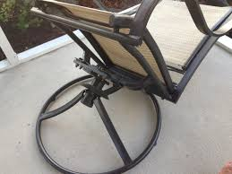 Repair Webbing On Patio Chair Patio Furniture Feet Replacement Patio Decoration