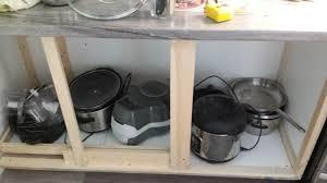 blind corner kitchen cabinet plans simple diy solution to kitchen cabinet blind corner 4