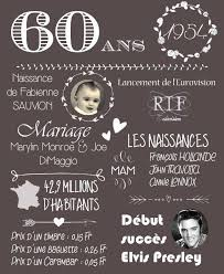 cadeau 60 ans de mariage les 25 meilleures idées de la catégorie carte anniversaire 60 ans
