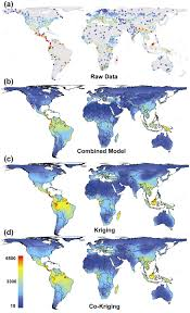 World Wide Map Biologists Produce Global Map Of Plant Biodiversity