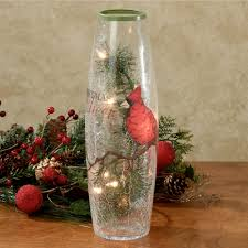 Lenox Christmas Vase Christmas Cheer Lighted Glass Vase