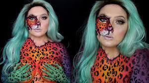 Halloween Animal Makeup Free Kesha Animal Inside Makeup Jordan Hanz Youtube