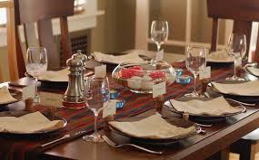 formal dining room table setting ideas with design picture 2079
