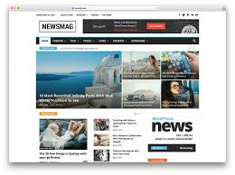 Best Website Color Schemes by 20 Best Wordpress Newspaper Themes For News Sites 2017 Colorlib