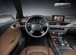 luxury cars inside audi a7 sportback 2011 cartype