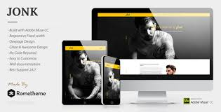 Best Personal Resume Websites by Jonk Cv Resume Personal Muse Template By Rometheme Themeforest