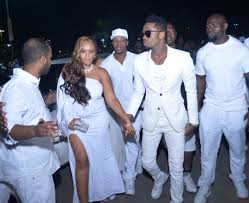 all white party diamond platnumz for zari all white party ug weekly