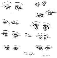 eyes emotions sketch 1 by hakoshechka on deviantart